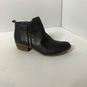 Lucky Brand Black Basel Booties